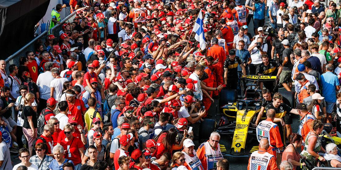 Fans - Renault - GP Italien 2018