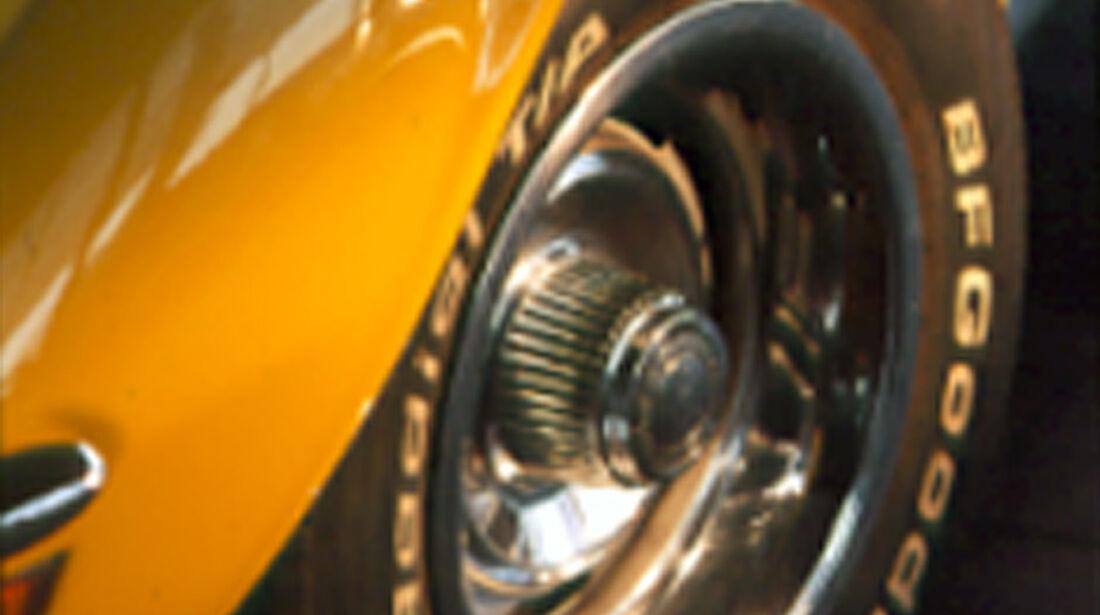 Felge der Chevrolet Corvette Stingray 454