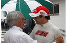 Felipe Massa Bernie Ecclestone