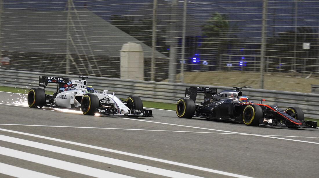 Felipe Massa & Fernando Alonso - GP Bahrain 2015