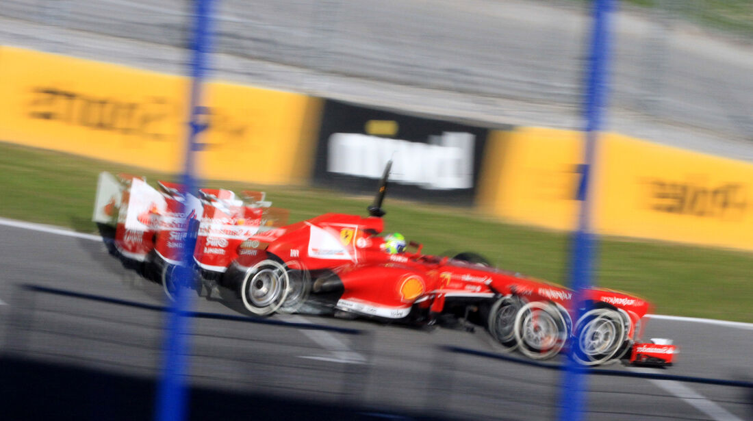 Felipe Massa Ferrari F1 Test Jerez 2013 Highlights