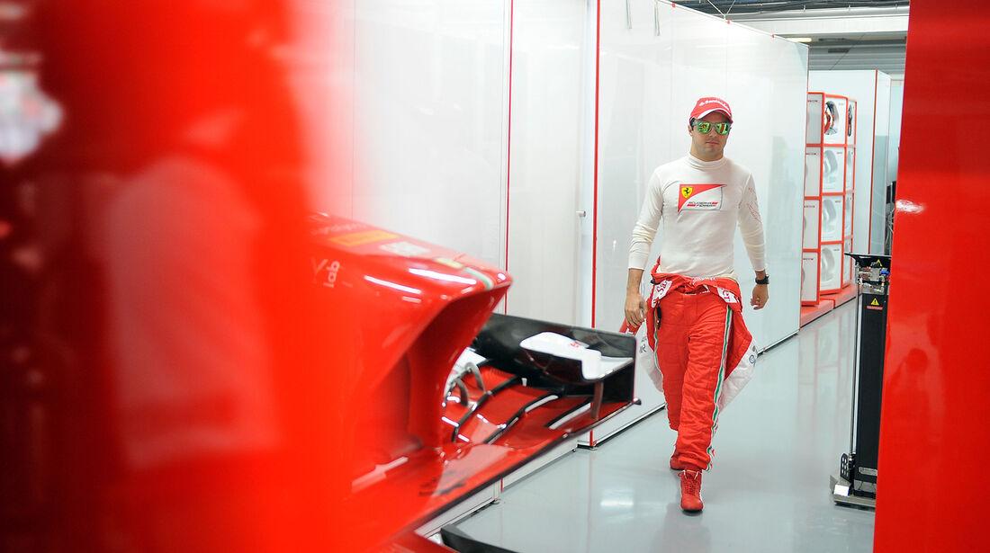 Felipe Massa - Ferrari - Formel 1 - GP Indien - 26. Oktober 2013