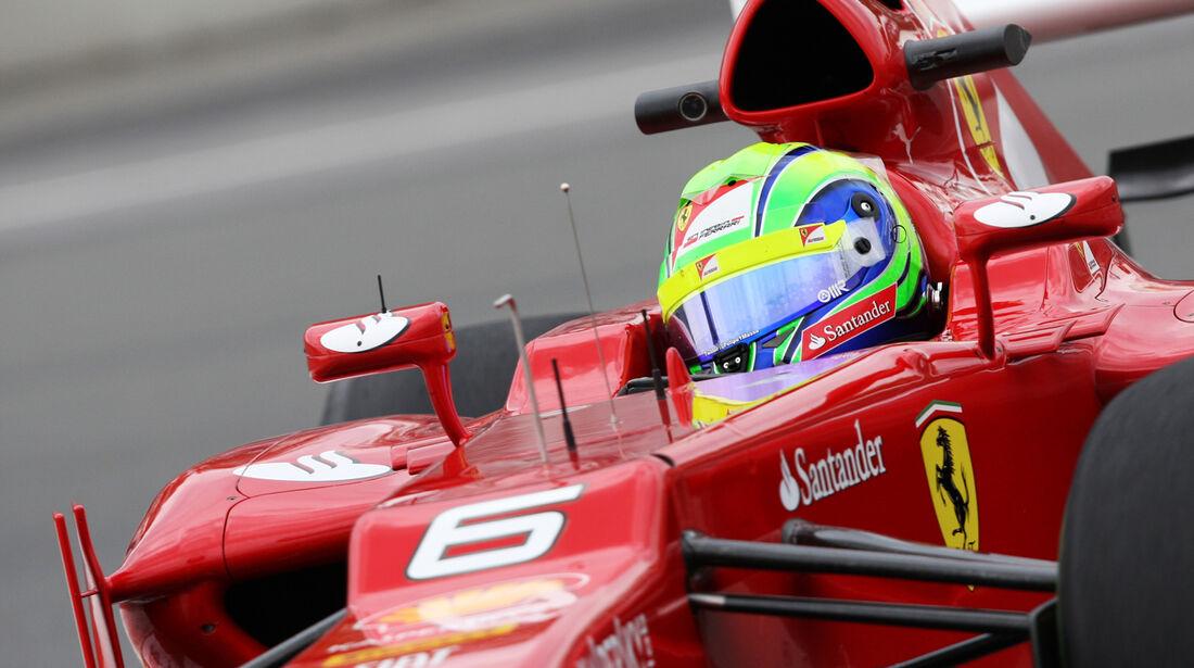 Felipe Massa - Ferrari - Formel 1 - GP Kanada 2012 - 8. Juni 2012