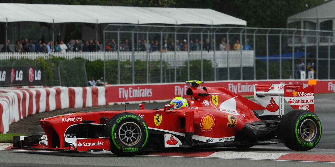 Felipe Massa - Ferrari - Formel 1 - GP Kanada - 8. Juni 2013