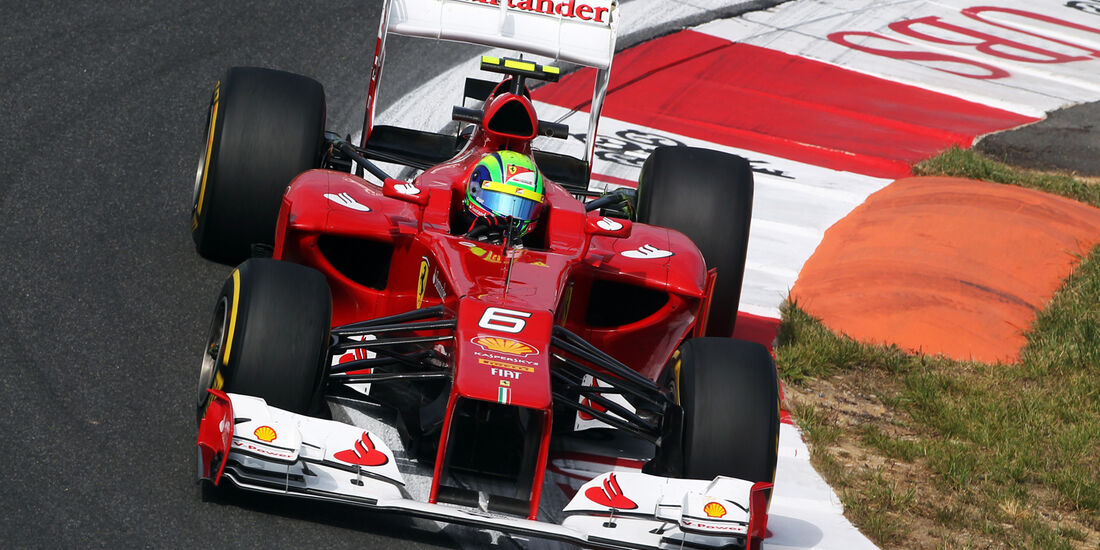 Felipe Massa - Ferrari - Formel 1 - GP Korea - 12. Oktober 2012