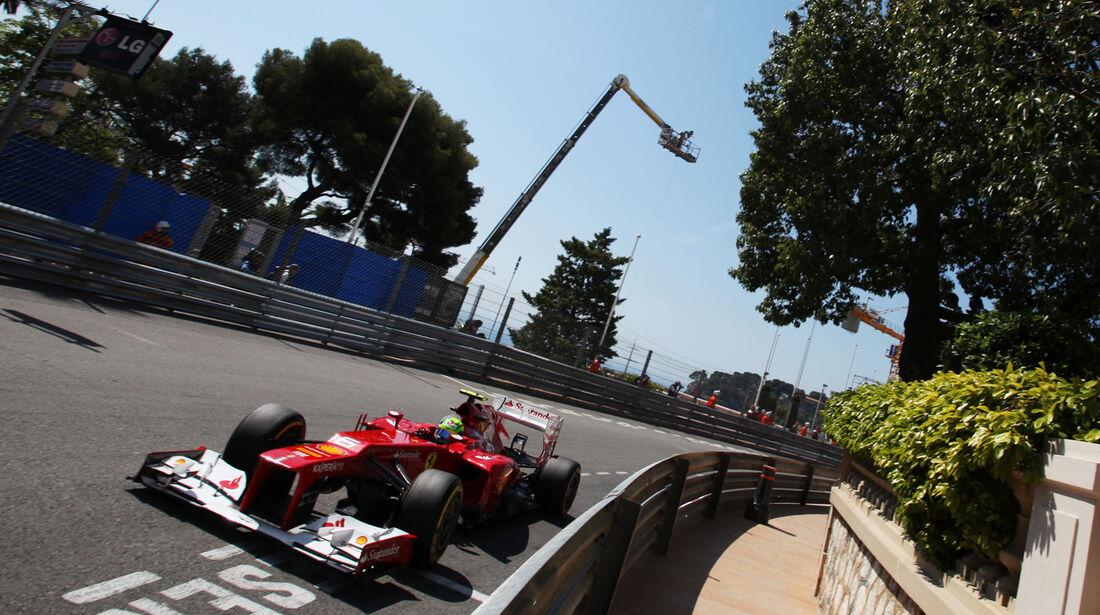 Felipe Massa - Ferrari - Formel 1 - GP Monaco - 24. Mai 2012