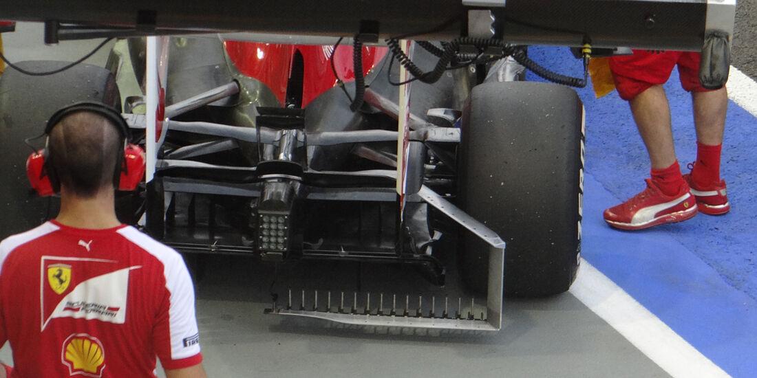 Felipe Massa - Ferrari - Formel 1 - GP Singapur - 20. September 2013