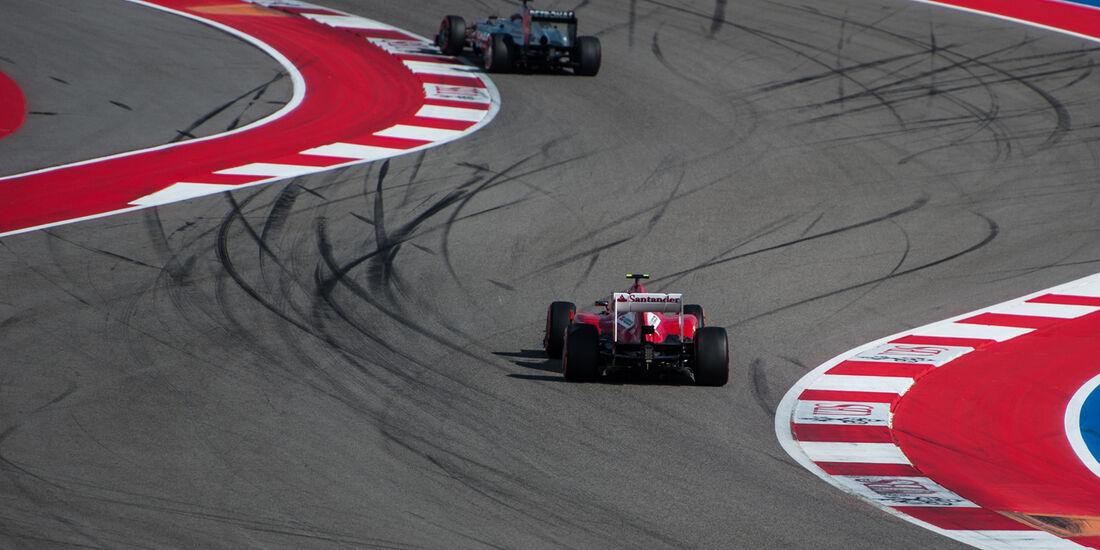 Felipe Massa - Ferrari - Formel 1 - GP USA - 16. November 2013