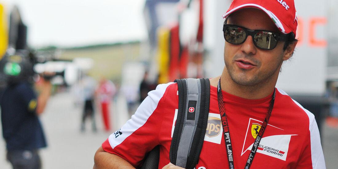 Felipe Massa - Ferrari - Formel 1 - GP Ungarn - 25. Juli 2012