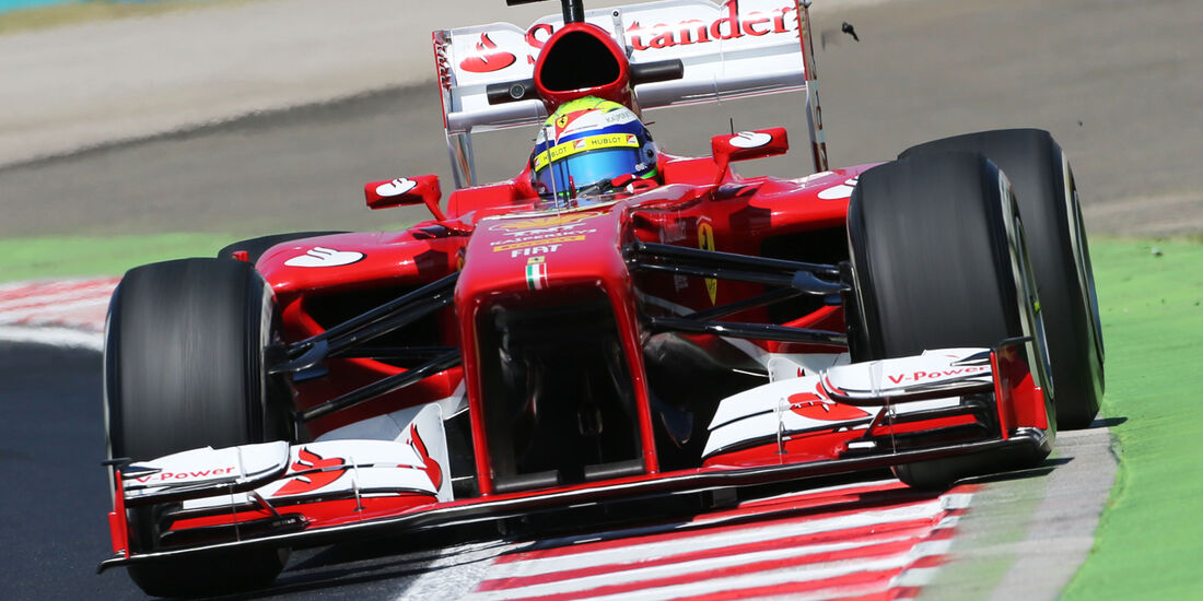 Felipe Massa - Ferrari - Formel 1 - GP Ungarn - 26. Juli 2013