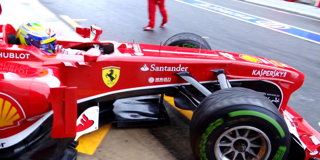 Felipe Massa - Ferrari - Formel 1 - Test - Barcelona - 28. Februar 2013
