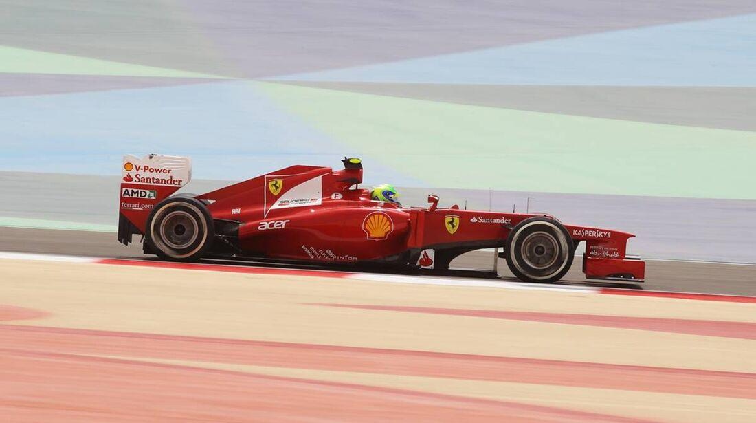 Felipe Massa - Formel 1 - GP Bahrain - 20. April 2012