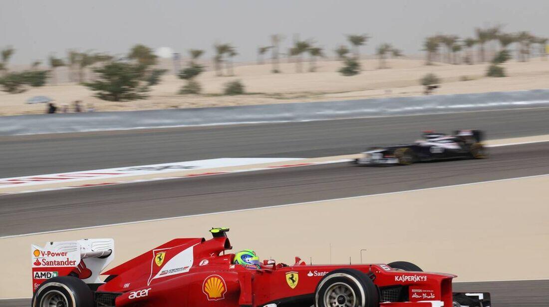 Felipe Massa  - Formel 1 - GP Bahrain - 22. April 2012