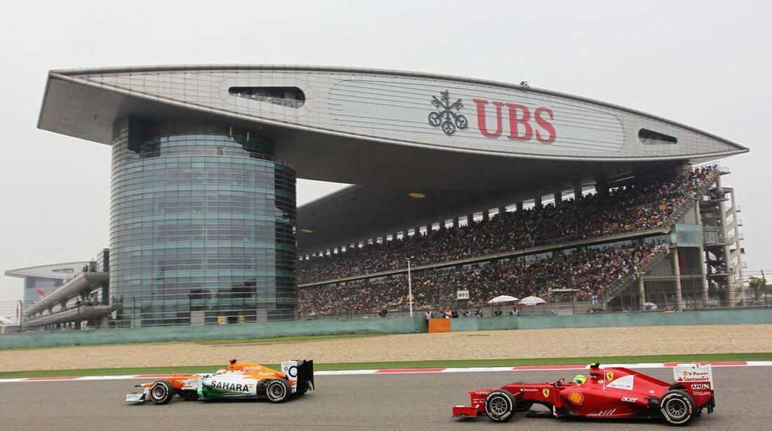 Felipe Massa  - Formel 1 - GP China - 15. April 2012