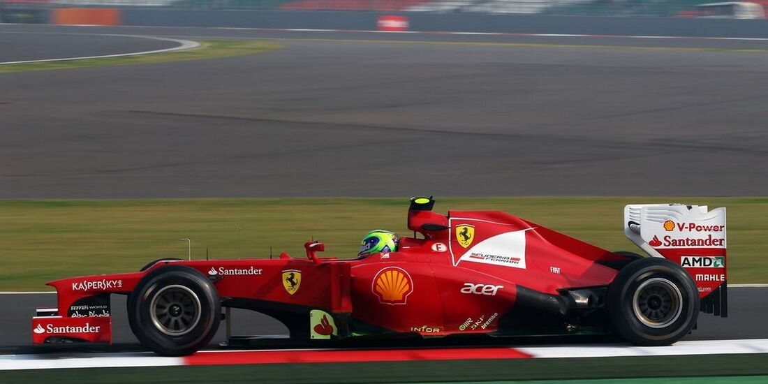Felipe Massa - Formel 1 - GP Indien - 26. Oktober 2012