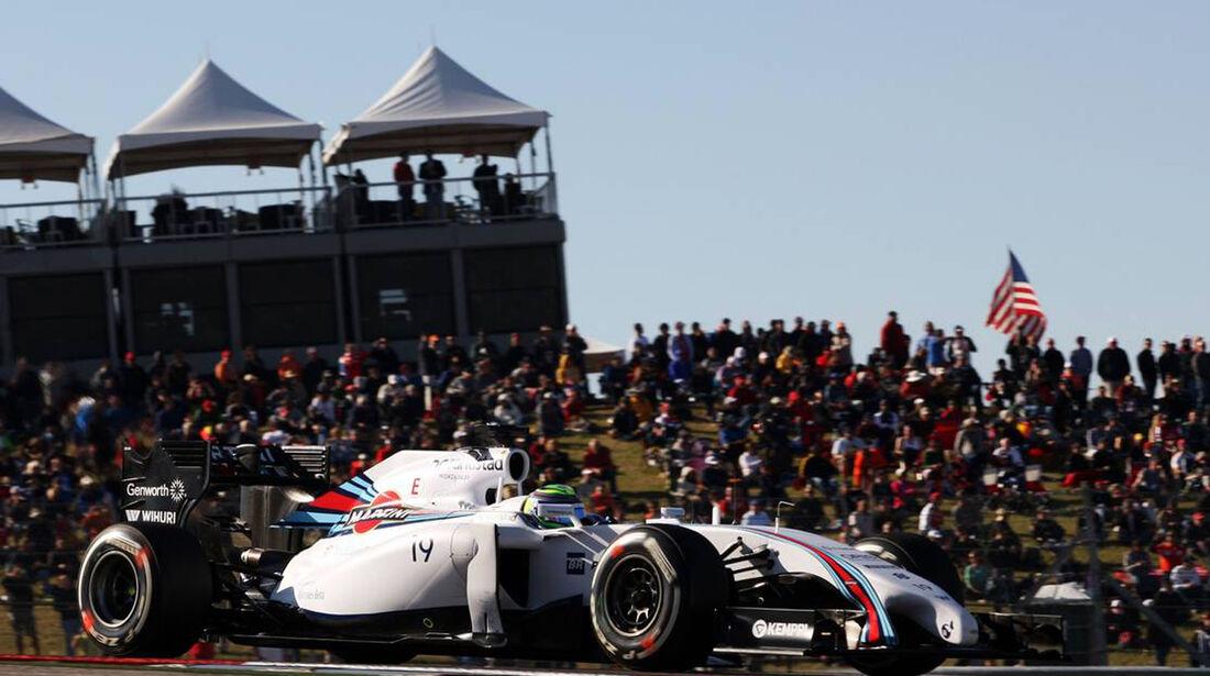 Felipe Massa - Formel 1 - GP USA - 1. November 2014