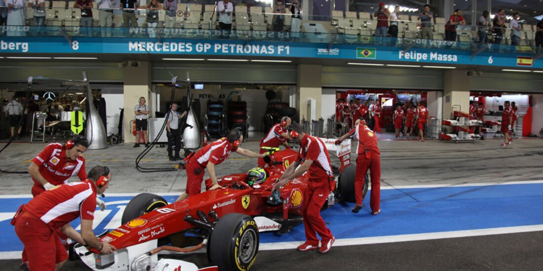 Felipe Massa - GP Abu Dhabi - Qualifying - 12.11.2011