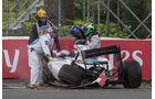 Felipe Massa - GP Kanada - Crashs 2014