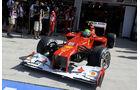 Felipe Massa GP Ungarn 2012