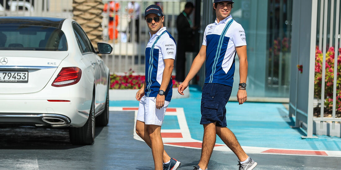 Felipe Massa & Lance Stroll - Williams - Formel 1 - GP Abu Dhabi - 24. November 2017
