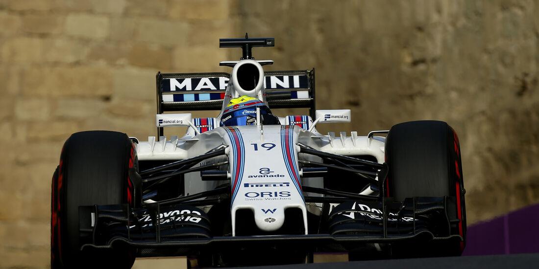 Felipe Massa - Williams - Formel 1 - GP Aserbaidschan - Baku - 18. Juni 2016