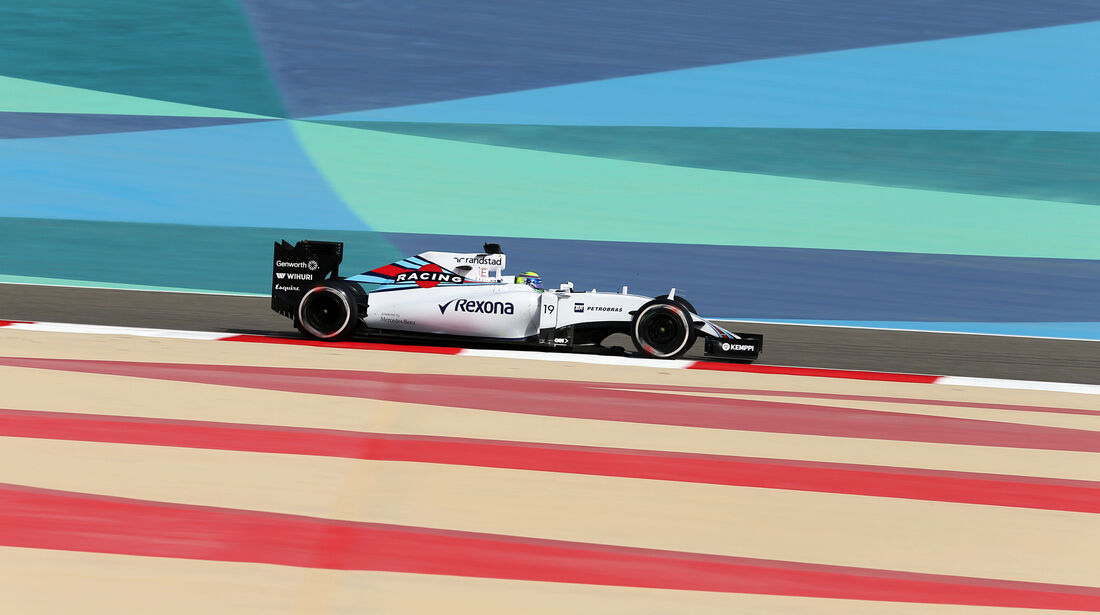 Felipe Massa - Williams - Formel 1 - GP Bahrain - 17. April 2015