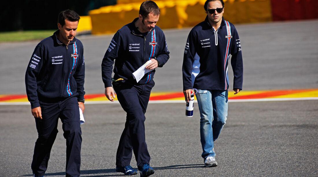 Felipe Massa - Williams - Formel 1 - GP Belgien - Spa-Francorchamps - 21. August 2014