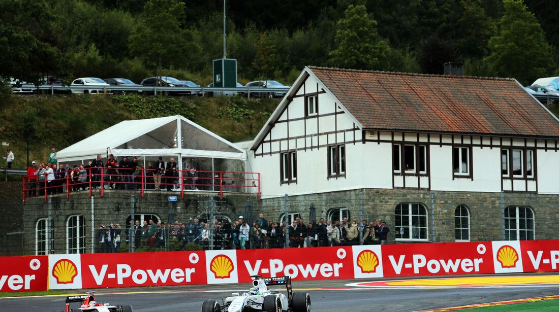 Felipe Massa - Williams - Formel 1 - GP Belgien - Spa-Francorchamps - 23. November 2014