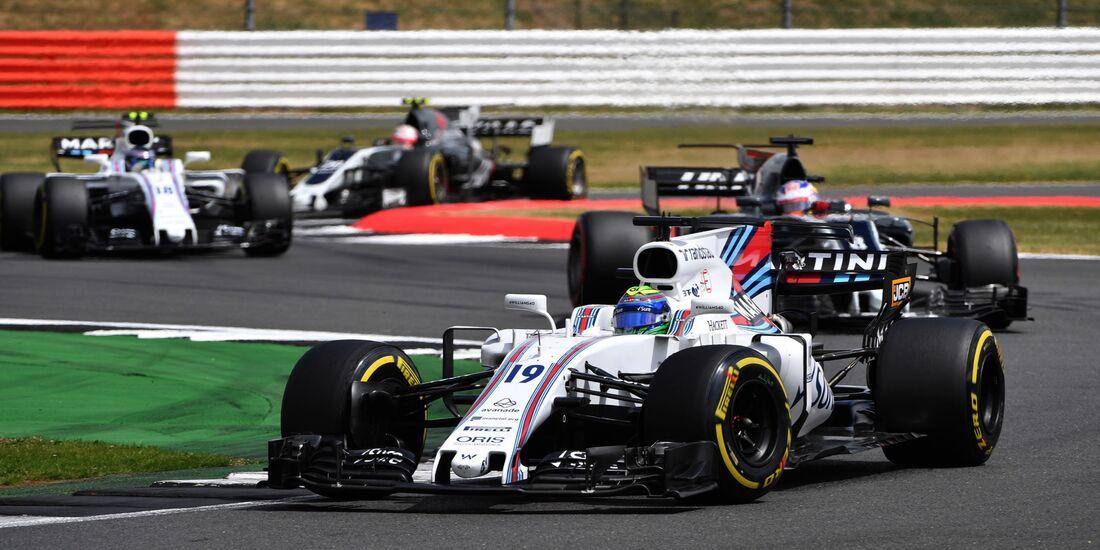 Felipe Massa - Williams - Formel 1 - GP England - 16. Juli 2017