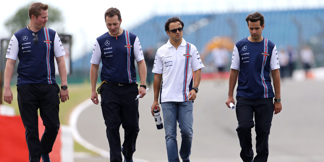 Felipe Massa - Williams - Formel 1 - GP England - Silverstone - 3. Juli 2014