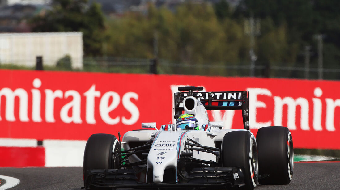 Felipe Massa - Williams - Formel 1 - GP Japan - Suzuka - 4. Oktober 2014