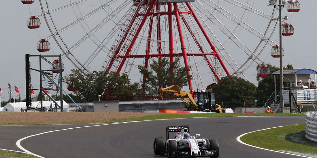 Felipe Massa - Williams - Formel 1 - GP Japan - Suzuka - Freitag - 7.10.2016
