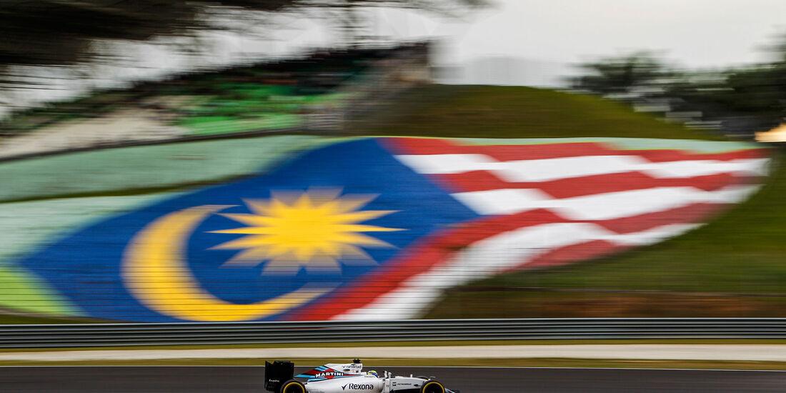 Felipe Massa - Williams - Formel 1 - GP Malaysia - Qualifying - 1. Oktober 2016