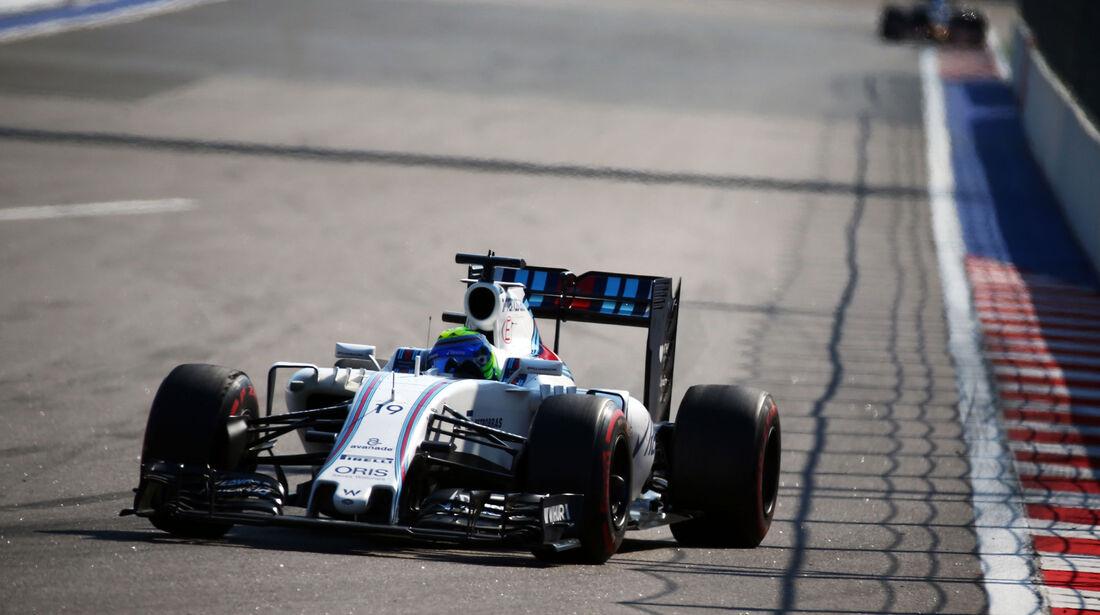 Felipe Massa - Williams - Formel 1 - GP Russland - 1. Mai 2016