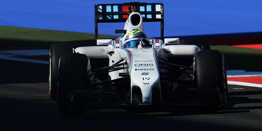 Felipe Massa - Williams - Formel 1 - GP Russland - Sochi - 10. Oktober 2014