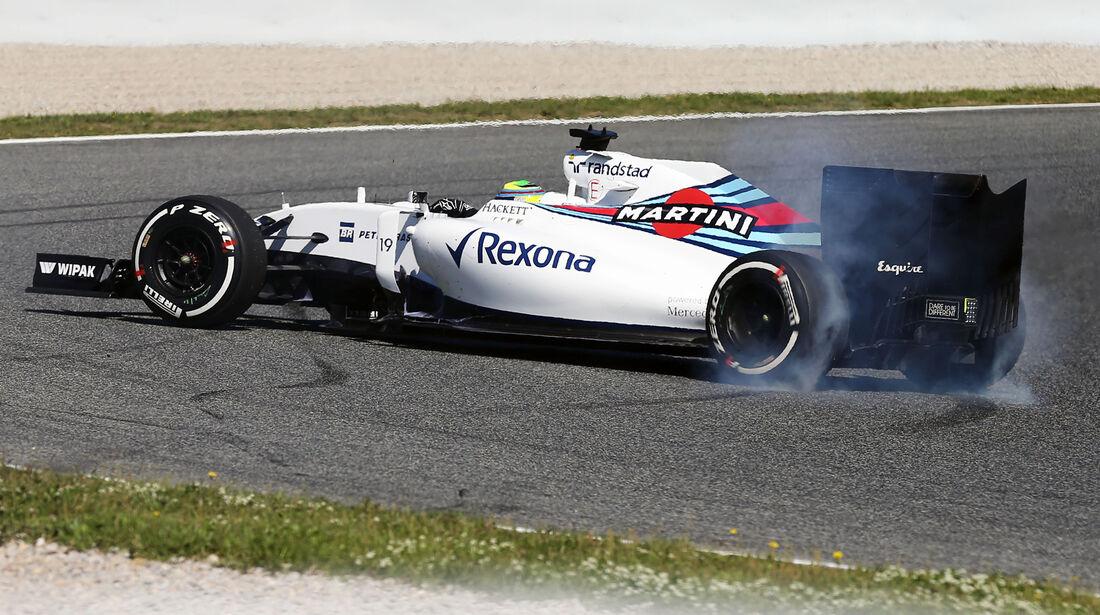 Felipe Massa - Williams - Formel 1 - GP Spanien - 13. Mai 2016