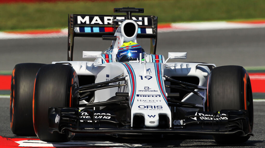 Felipe Massa - Williams - Formel 1 - GP Spanien - Barcelona - 8. Mai 2015