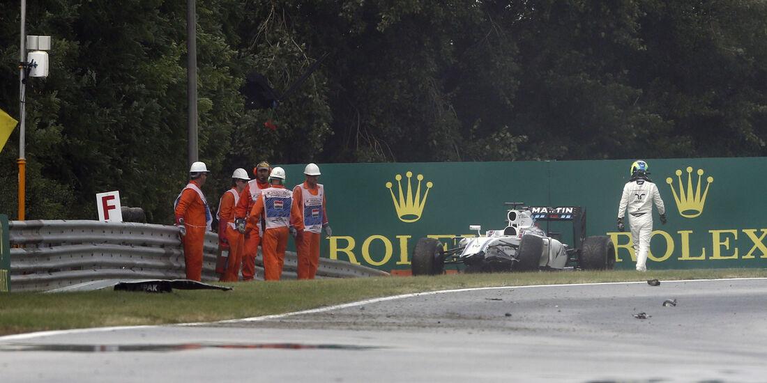 Felipe Massa - Williams - Formel 1 - GP Ungarn - 23. Juli 2016