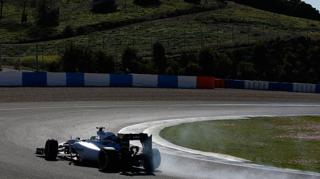 Felipe Massa - Williams - Formel 1 - Jerez - 2015