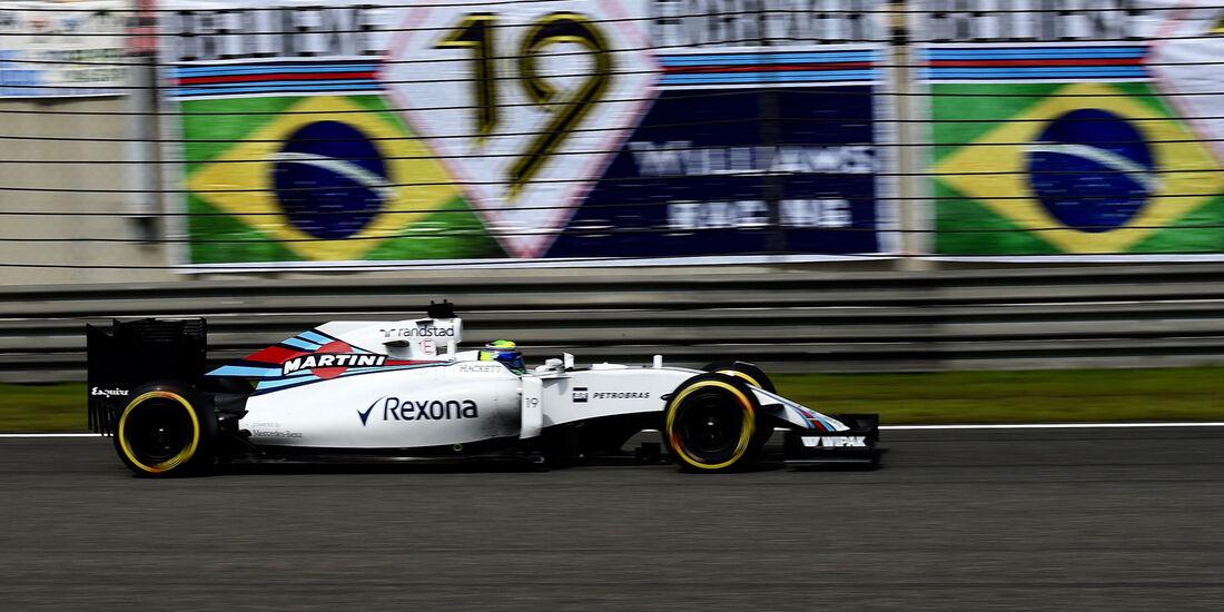 Felipe Massa - Williams - GP China 2016 - Shanghai - Rennen