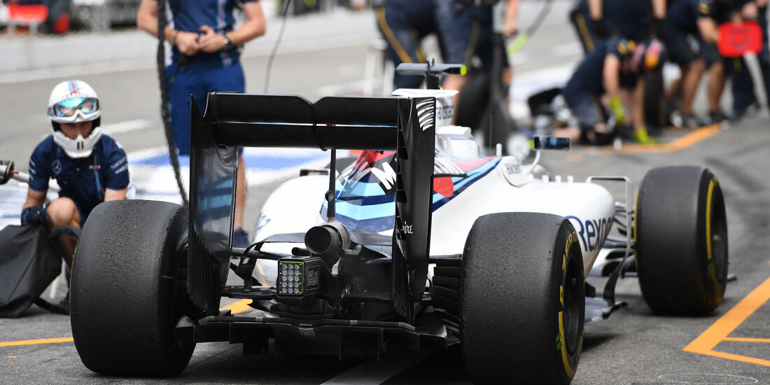 Felipe Massa - Williams - GP Deutschland - Formel 1 - 29. Juli 2016