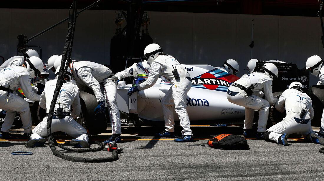 Felipe Massa- Williams - GP Spanien 2015 - Rennen - Sonntag - 10.5.2015