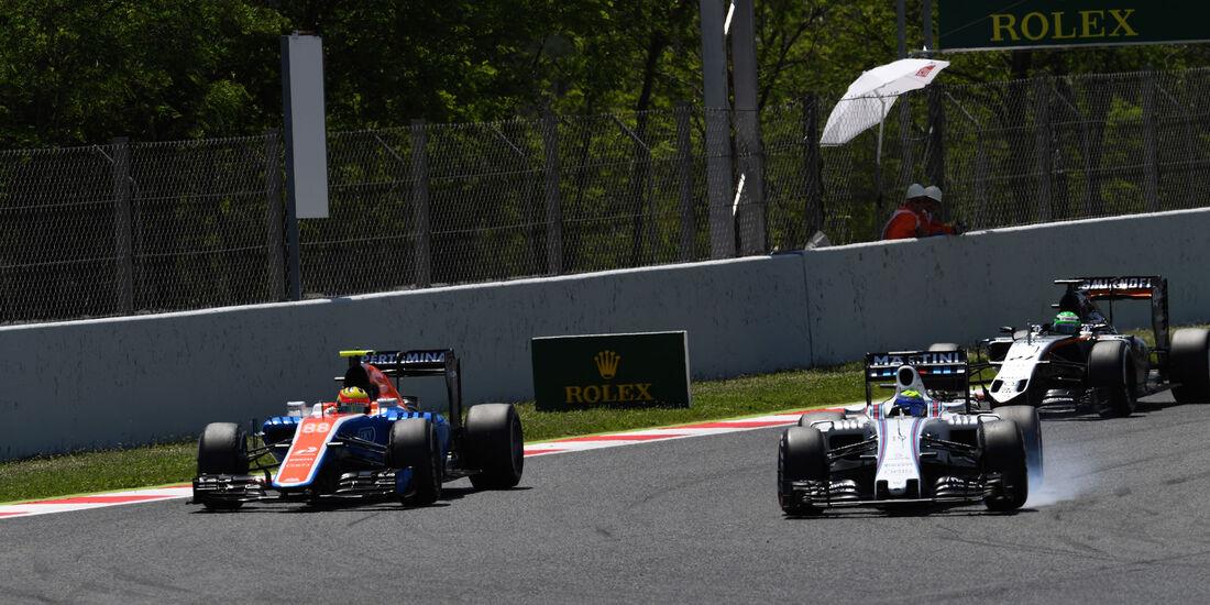 Felipe Massa - Williams - GP Spanien 2016 - Barcelona - Sonntag - 15.5.2016