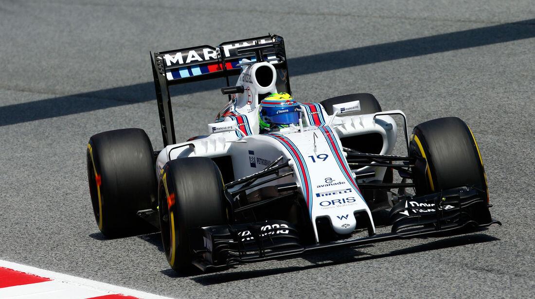Felipe Massa - Williams - GP Spanien 2016 - Qualifying - Samstag - 14.5.2016