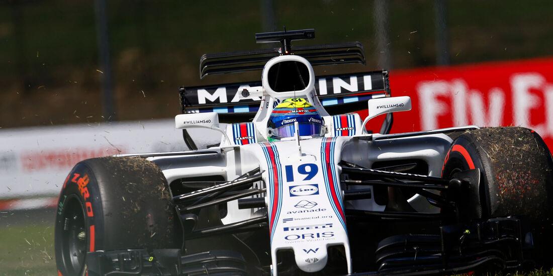 Felipe Massa - Williams - GP Ungarn - Budapest - Formel 1 - Freitag - 28.7.2017