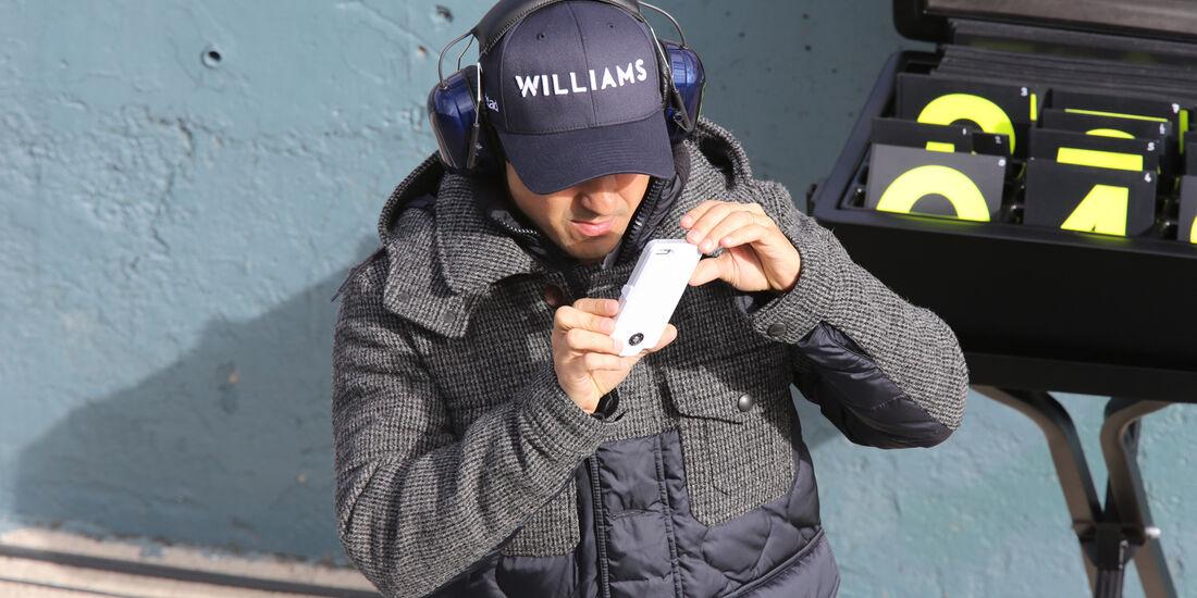 Felipe Massa - Williams - Jerez - Formel 1 - Test - 29. Januar 2014