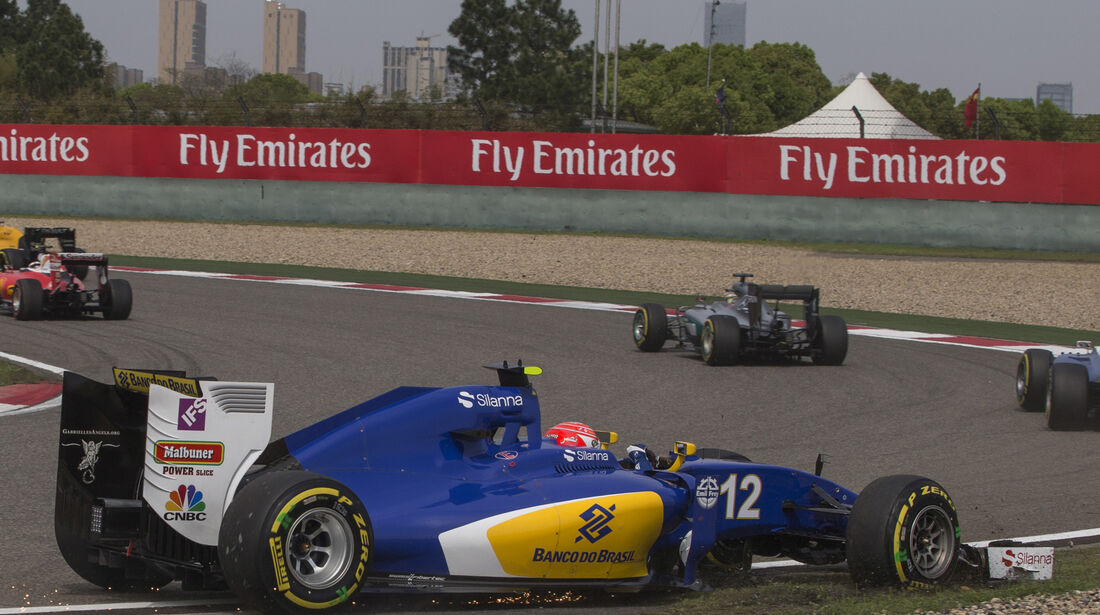 Felipe Nasr - GP China 2016