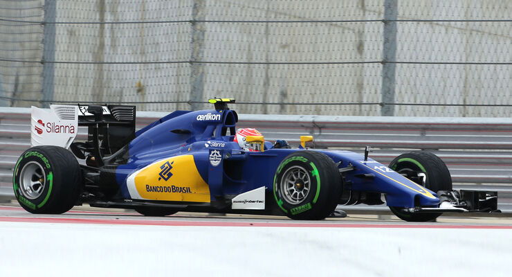 Felipe Nasr - GP USA 2015