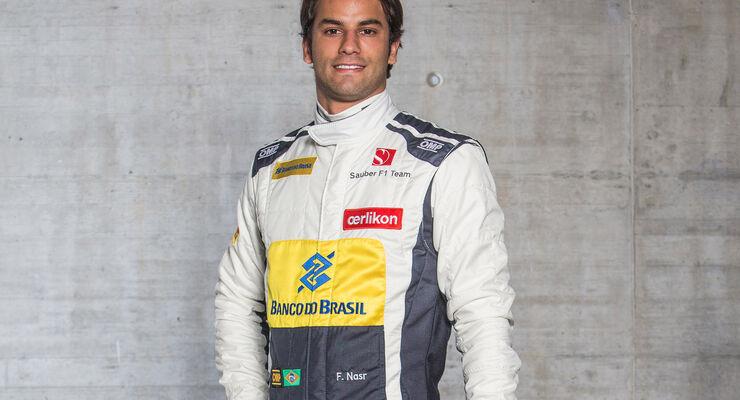 Felipe Nasr - Porträt - Formel 1 - 2015