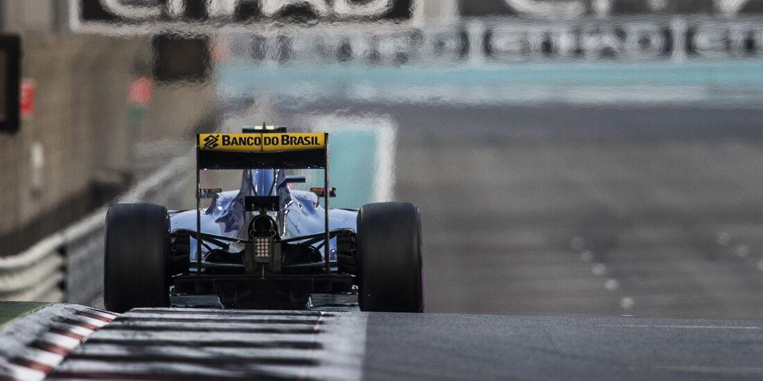 Felipe Nasr - Sauber - Formel 1 - GP Abu Dhabi - 26. November 2016